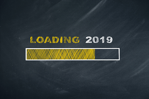 Eye Care Resolutions 2019 | image showing loading bar for 2019