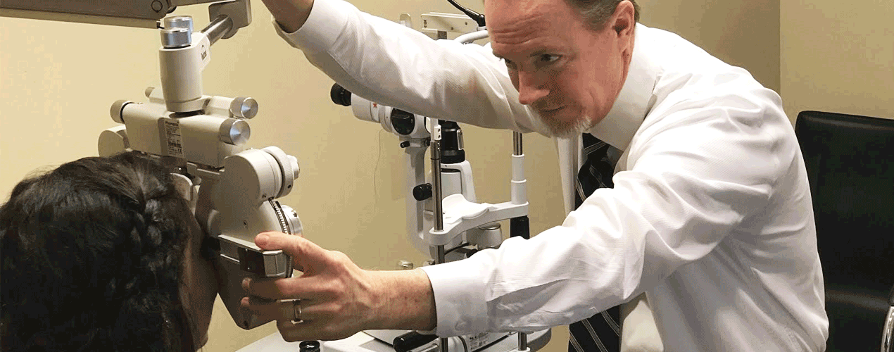 Eye test Dr Alexander