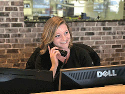 Atl Eye Care receptionist